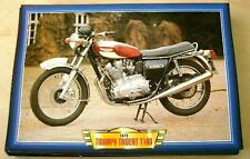 TRIUMPH TRIDENT T160 TRIPLE CLASSIC MOTORCYCLE BIKE 1970'S PICTURE 1975 T  160