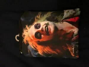 BEETLEJUICE Little Bag / Coin Purse - MINT CONDITION / RARE - Classic 80s Movie