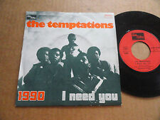 "DISQUE 45T DE THE TEMPTATIONS  "" 1990 """