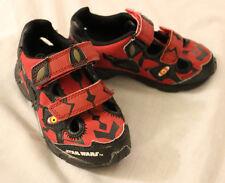 Star Wars Sandals - Stride Rite - Darth Maul Shoes Red Black Summer Tennis Sith
