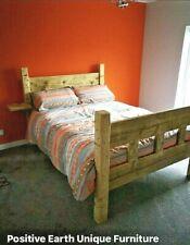 Reclaimed Wood Bed - King Size - Handmade Bespoke Rustic Designs