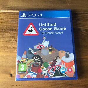 Untitled Goose Game Sony Playstation 4 PS4 Game New Sealed