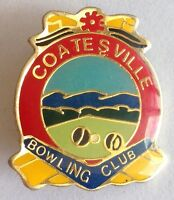 Coatesville Bowling Club Badge Rare Vintage (M8)