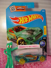 2016 i Hot Wheels BULLET PROOF #15✰Trans Green;Orange oh5 yellow✰X-Raycer✰Case G