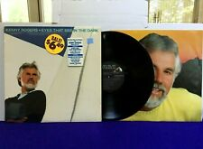Kenny Rogers EYES THAT SEE IN THE DARK 1983 RCA Shrink Hype Sticker NEAR MINT!