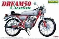 Aoshima 1/12 Vélo Honda Dream 50 Personnalisé Plastique Model Kit de Japon Neuf