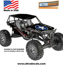 Spitfire Axial Wraith Body Skin Decal Wrap Sticker 3M Ultradecal Shark Teeth