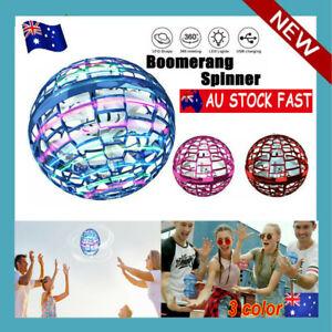Pro Flying Ball Space Orb Magic Mini Drone UFO Boomerang Boy Girl Toy Gifts AU