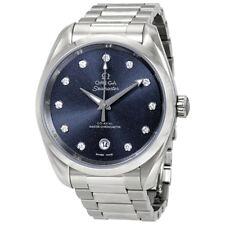 Omega Seamaster Aqua Terra Automatic Diamond Ladies Watch 220.10.38.20.53.001