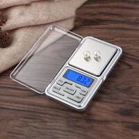 Mini Digital-Taschen-Waage 500g/200g-0,01g Taschenwaage Briefwaage Goldwaage Neu
