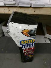 Kevin Harvick NASCAR Race Used Sheet metal Nose Corners Jimmy John's