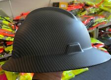 Mate Black Full Brim Hard Hat With With Fas Trac Suspension