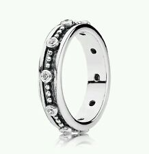 190882cz NEW Genuine Pandora Sterling Silver CZ Fairy Tale Ring*SIZE 48* £50