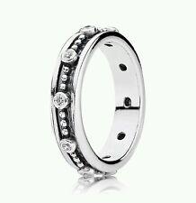 190882cz NEW Genuine Pandora Sterling Silver CZ Fairy Tale Ring*SIZE 48* £50