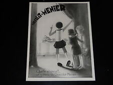 PUBLICITE - CHOCOLAT MENIER - 1961 - PRESSE - ADVERTISING - VIC