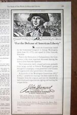 1940 John Hancock Insurance Nathaniel Hawthorne Ad