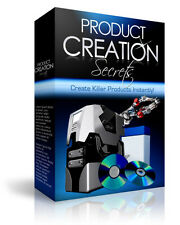 Product Creation Secrets On Video And Audio - Step By Step Shows You How (CD-ROM