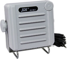 Jdi Waterproof External white Speaker for Kenwood Icom Yaesu Standard Boats