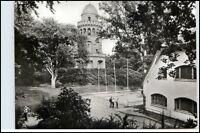 BERGEN Insel Rügen DDR Postkarte Rugard Gaststätte Ernst Moritz Arndt Turm AK
