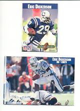 1990 Pro Set ERIC DICKERSON Indianapolis Colts Collect A Book Card Rare