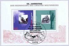 BRD 1995: Kriegsende-Block Nr. 31 mit Berliner Ersttags-Sonderstempel 1A! 1801