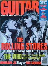 GUITAR WORLD MAGAZINE - ROLLING STONES - COVER STORY - 182 PAGES - OCTOBER, 1994