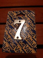brass door number (7)65mm