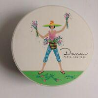 Used DANITA Powder Box, Andy Warhol Designed for Dana Dusting Powder, EMPTY
