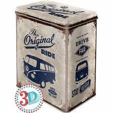 VW bus bulli t1 * Scatola di latta L * lattina di scorta * ombreggiato Barattolo Nostalgia * * NUOVO!