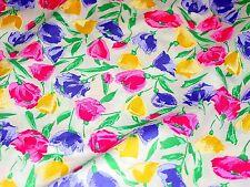 Weilwood Fabrics NY Floral Flower Garden Fabric 45 In x 5.5 Yd Quilt Craft
