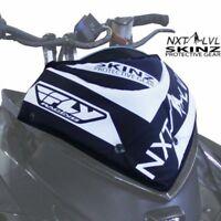 Skinz NXT LVL Fly Windshield Pak Black & White - Arctic Cat 2012-2017 ZR F XF M