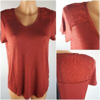 NEW Ex M&Co Ladies Short Sleeve Top Size 10 - 20