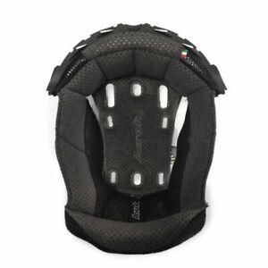 Airoh Aviator 2.2/2.3 Motorcycle Helmet Centre Pads Top Liner - Black, Grey