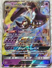Lotto carte Pokemon LUNALA GX 66/149 SOLE E LUNA EX FULL ART FA IN ITALIANO GOLD