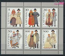 lettonie Bloc 3 neuf 1993 Costumes (9077292