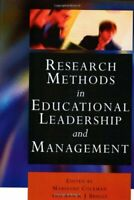 Research Methods en En Educativos Leadership Y Gestión Marianne