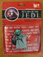 1983 Star Wars (YODA) ROTJ RETURN OF JEDI COLLECTIBLE WALLET (UNOPENED / SEALED)