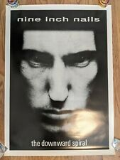 "RARE NINE INCH NAILS the downward spiral Poster Trent Reznor 25"" x 35"" Original"