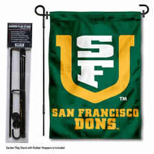 San Francisco Dons Garden Flag and Yard Stand Included
