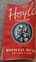 Official Rules of Card Games, Hoyle Up to Date, 51st Ed. 1959, 256 pages, Softcv