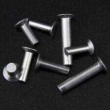 M2 M2.5 M3 aluminum flat countersunk head riveting solid rivet 4mm-12mm length