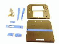Nintendo 2DS Ersatzgehäuse Replacement Case - BLAU SCHWARZ // gebraucht // 2DS