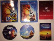 The Lion King (1994) Diamond Edition Blu-ray + DVD w/ SLIPCOVER! Disney
