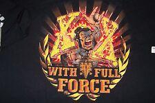 Deutschland mit Full Force Festival 2013 Größe M Tshirt fest. Korn, Slayer, Rauch...