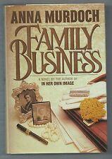 Family Business, Anna Murdoch, Morrow hardcover 1st prt, 1st edt
