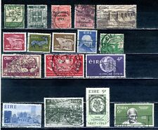 Ireland 1922 -1975 used  selection 17 stamps