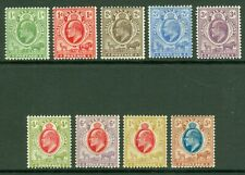 SG 139-147 Orange river colony 1903-04. ½d to 5/-. Fine mounted mint CAT £275