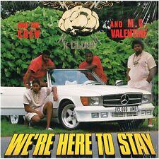 K-CLOUD 7 CREW & M.C. VALENTINE we're here to stay_U.S. CLOUD 9 LP_rare 1989 RAP