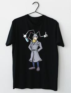 LIMITED NEW Inspector Gadget Cartoon T-Shirt L-2XL