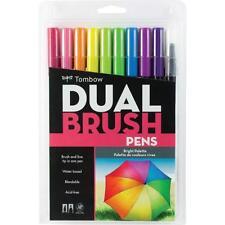 Tombow Dual Brush Pen Sets-bright Colours 10 Pens